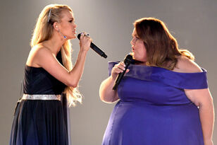 Chrissy Metz Makes TV Singing Debut With Carrie Underwood At ACM Awards