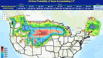 Rachel Ramsey - How much snow are we going to get??