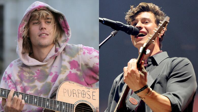Justin Bieber and Shawn Mendes 'fight' over 'Prince of Pop' title