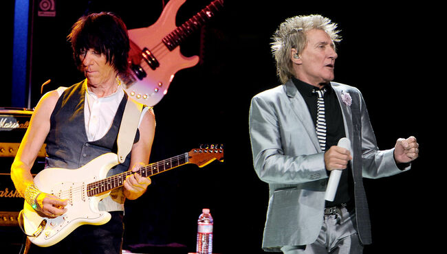 Rod Stewart, Jeff Beck To Reunite For One-Off In September