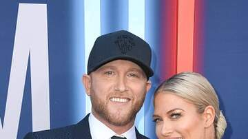 Michelle Buckles - Cole Swindell Walks ACMs Red Carpet with New Girlfriend