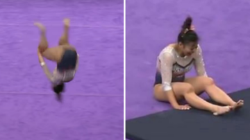 Suzette - Gymnast Breaks Both Legs In Horrific Accident During Her Routine