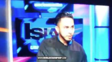 Chuck Dizzle - DJ Makes A Big Mistake On Live National Television!