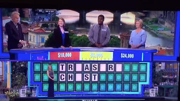 Trending - Wheel Of Fortune Contestant Forgets What A Vowel Is & Loses, Twitter Reacts
