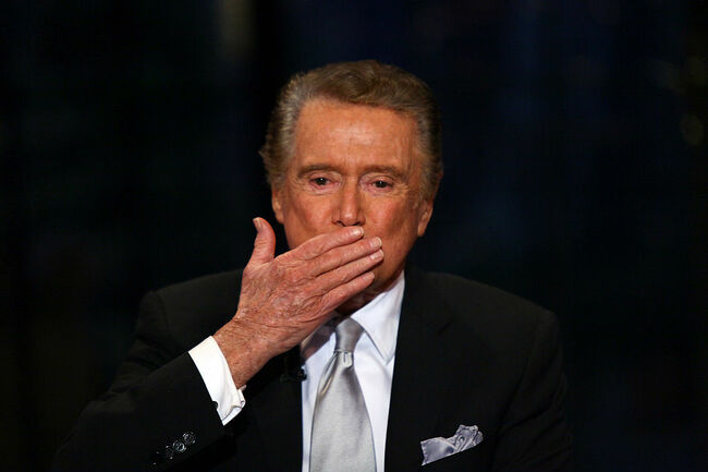 "Regis Philbin's Final Show Of ""Live! With Regis & Kelly"""