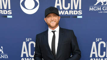 Chelsey - Cole Swindell Walks Red Carpet at ACMs with New Girlfriend