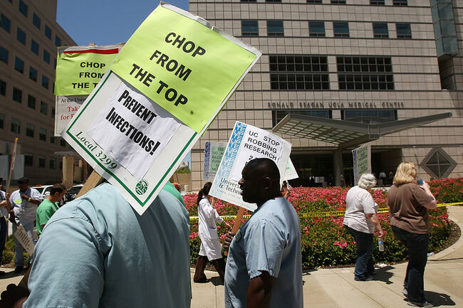 UC Patient Care, Service Workers to Stage 1-Day Strike | KFI