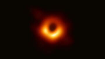 Weird News - First Ever Photo of a Black Hole Revealed by Scientists