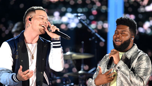 Are Kane Brown + Khalid Heading Back In The Studio Together?