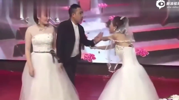 Trending - Groom's Ex Interrupts His Wedding While Wearing A Wedding Dress