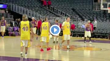 Carter - Adam Levine Celebrates 40th Birthday With Basketball Game On Lakers Court