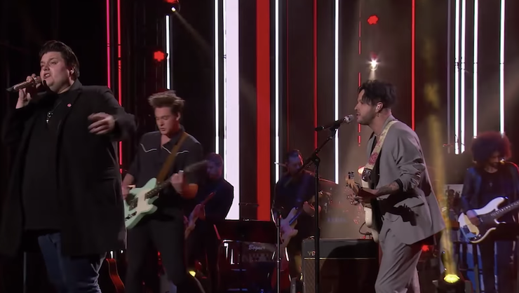 Lovelytheband Performs 'Broken' With American Idol's Wade