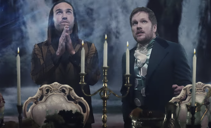 Fall Out Boy Transport To Lil Peep's World In 'I've Been Waiting' Video