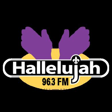Hallelujah 96.3 logo