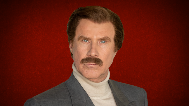 """The Ron Burgundy Podcast"""