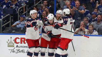 WTVN Local News - Blue Jackets Take Game 1