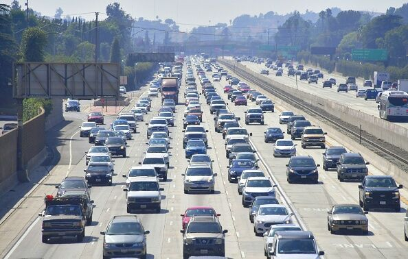 Traffic Los Angeles  Getty Images
