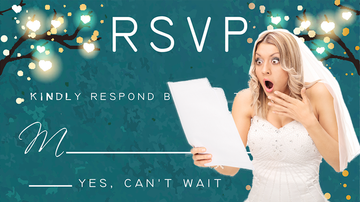 What We Talked About - Couple Furious Over What A Guest Wrote On Their Wedding RSVP Card