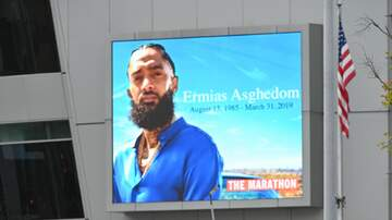 Vro - Nipsey Hussle Funeral Today At The Staple Center in downtown Los Angeles