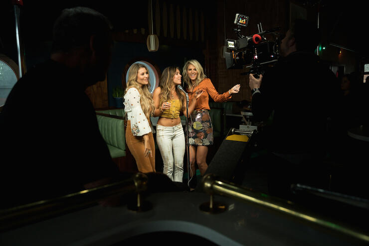 "Runaway June ""Buy My Own Drinks"" Behind-the-Scenes"