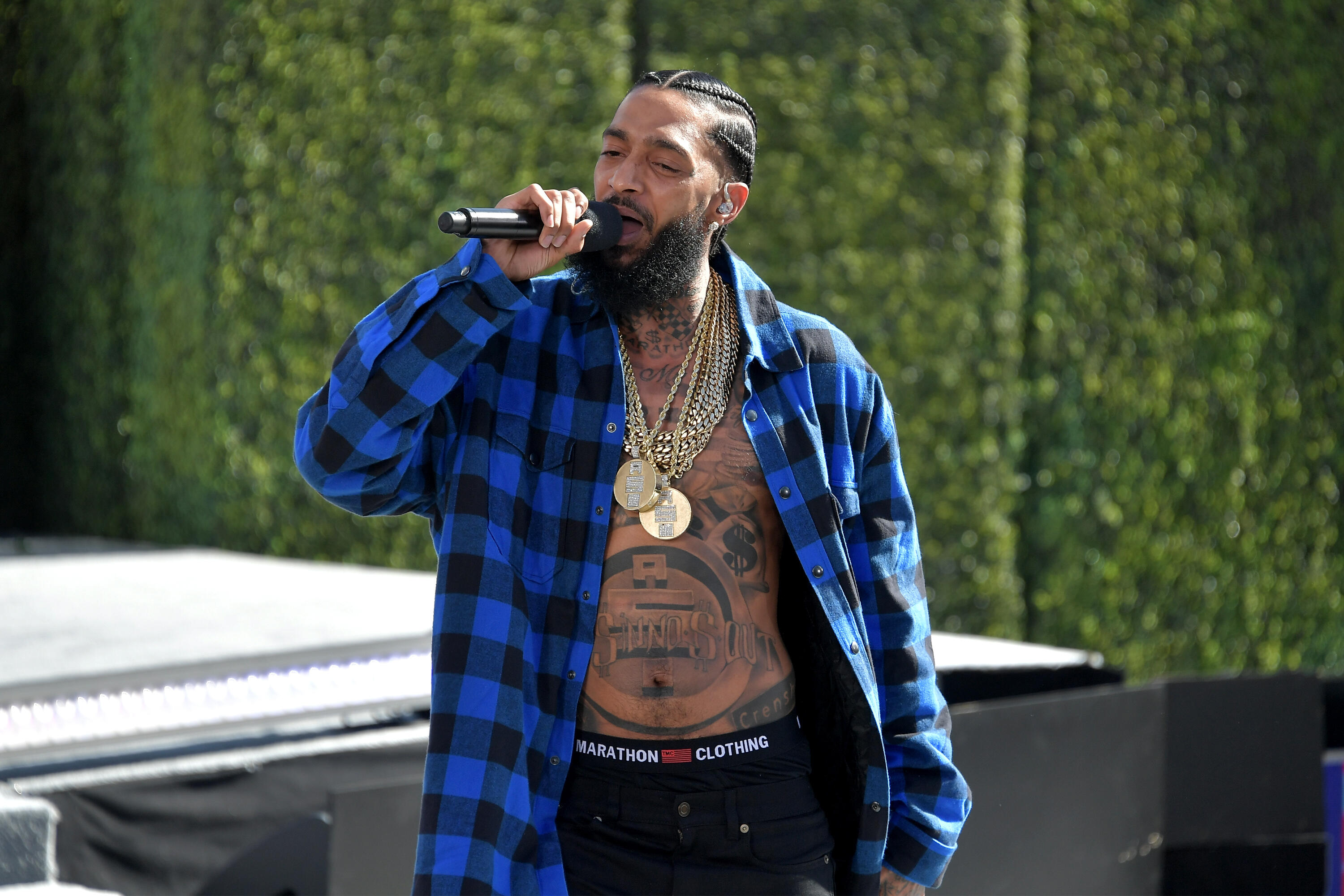 NIPSEY HUSSLE: Rapper Inspires Names for New Crayola Color