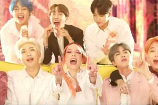 "BTS & Halsey's New Song ""Boy With Luv"" Has Officially Arrived"