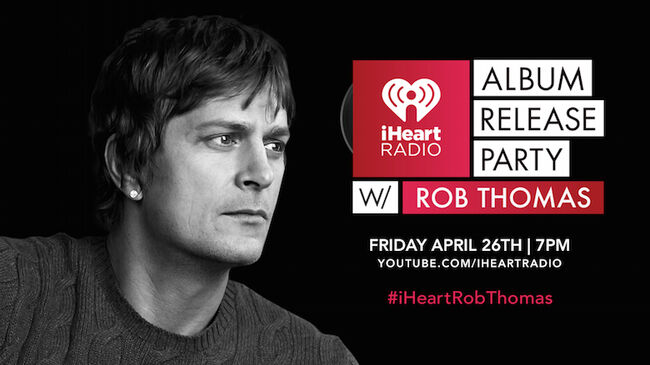 Rob Thomas iHeartRadio Album Release Party