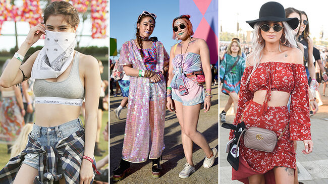 Music Festival Fashion: Tie Dye, Fringe & More