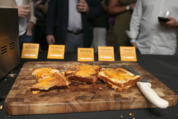 Grilled Cheese Happy Hour Hosted By Laura Werlin And Ms. Cheezious - 2016 Food Network & Cooking Channel South Beach Wine & Food Festival Presented By FOOD & WINE