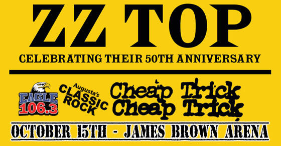 Eagle 1063 Welcomes Zz Top Cheap Trick Oct 15 2019