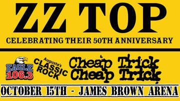 None - Eagle 106.3 Welcomes ZZ TOP + Cheap Trick