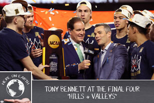 PODCAST: Hills and Valleys - Tony Bennett at the Final Four - Here on Earth