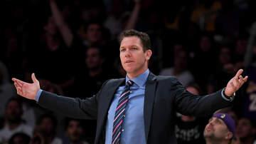 Sports Desk - Lakers, Luke Walton Parting Ways
