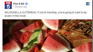 Steve - Pre-cut melon sold at Walmart, Target, others recalled due to salmonella