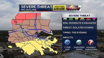 WJBO Local News - NBC Local 33 Weather: Strong To Severe Thunderstorms Arrive Late Saturday