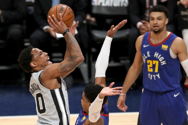 San Antonio Spurs v Denver Nuggets - Game One