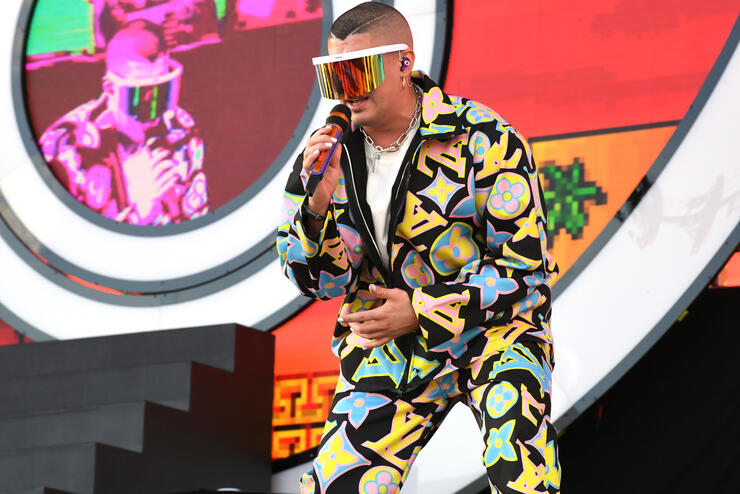 Bad Bunny Brought Out J Balvin For an Epic Coachella 2019 Performance