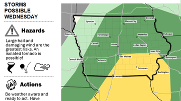 WOC-AM Local News Blog - Heavy rain, storms Wednesday in Nebraska, Iowa, Illinois MAPS