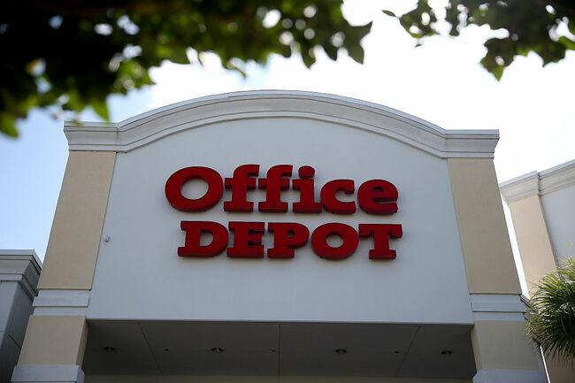 Staples And Office Depot Reportedly In Merger Talks