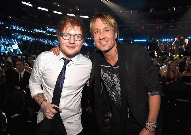Ed Sheeran, Keith Urban