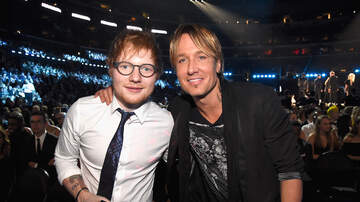 Music News - How Ed Sheeran Inspired Keith Urban to Record New Song Burden