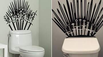 Tim Ben & Brooke - You Can Now Turn Your Toilet Into The Iron Throne From Game Of Thrones