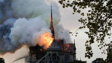 JJ Ryan - Massive Fire Breaks Out At Notre Dame Cathedral In Paris