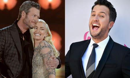 Music News - Gwen Stefani And Blake Shelton Enjoy A Date Night — With Luke Bryan