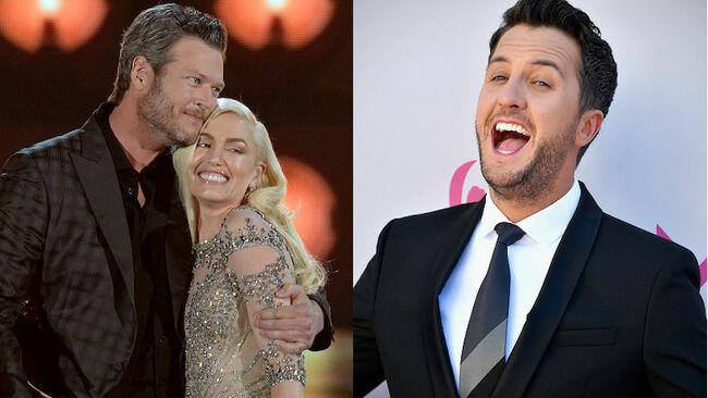 Gwen Stefani And Blake Shelton Enjoy A Date Night — With Luke Bryan