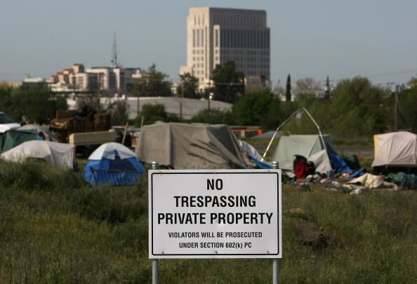 Evictions Start At Sacramento's Tent City