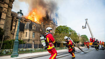 The Morning Rush - Notre Dame Fire: Local Reaction
