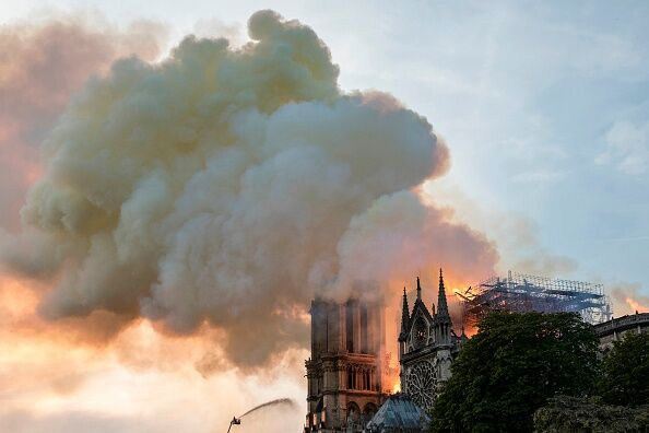 Notre Dame Cathedral Fire 4 15 2019 Getty Images
