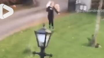 Hitman - Girl was Chasing a Goat out of her Garden when......
