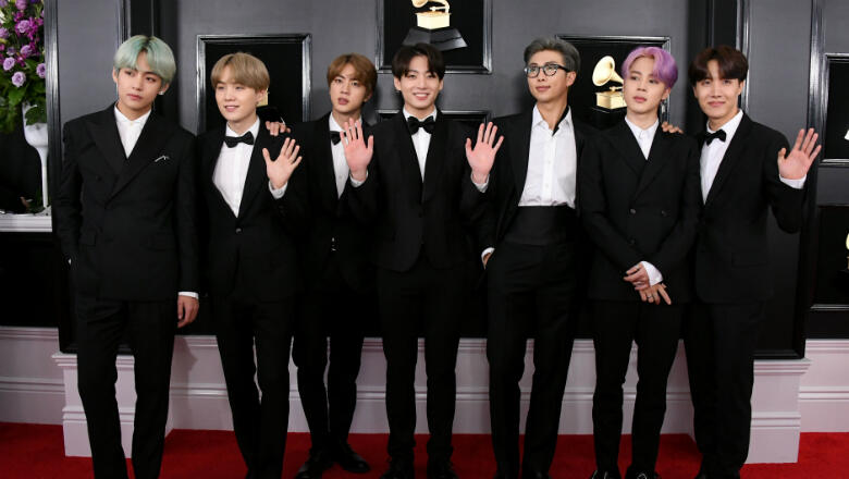 Watch BTS Perform On 'SNL' : All Songs Considered